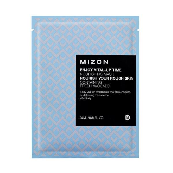 MIZON Тканевая питательная маска для лица / Enjoy Vital-Up Time Nourishing Mask