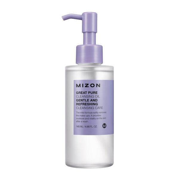 MIZON Гидрофильное масло для снятия макияжа / Great Pure Cleansing Oil