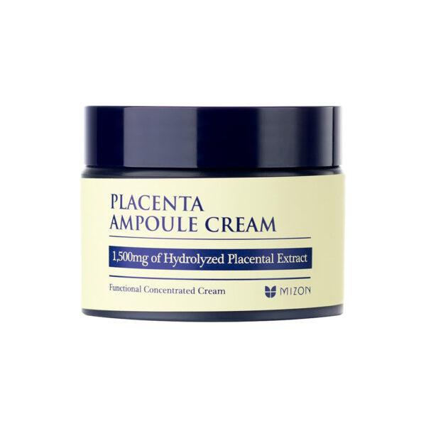 MIZON Антивозрастной плацентарный крем для лица / Placenta Ampoule Cream