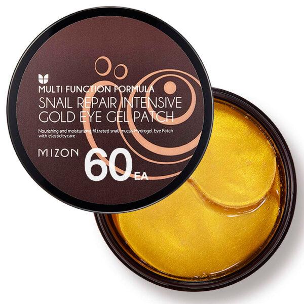 MIZON Гидрогелевые патчи с улиточным муцином / Snail Repair Intensive Gold Eye Gel Patch