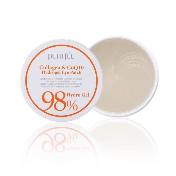 PETITFEE Q10 Collagen&CoQ10 Hydrogel Eye Patch, 60 шт