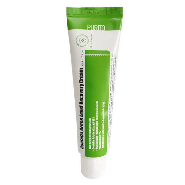 PURITO Centella Green Level Recovery Cream. Центелла азиатская.