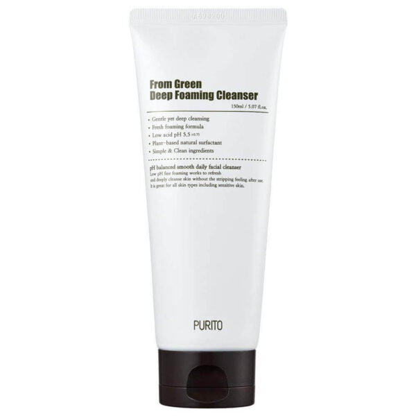 PURITO From Green Deep Foaming Cleanser. Центелла азиатская.