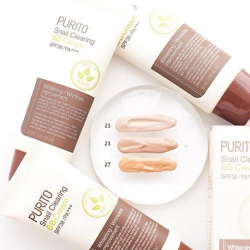 Purito-Snail-Clearing-BB-Cream-SPF38-PA-swatch-2