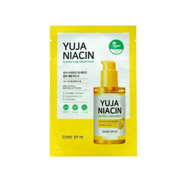 Some by mi Yuja Niacin Blemish Care Serum Mask