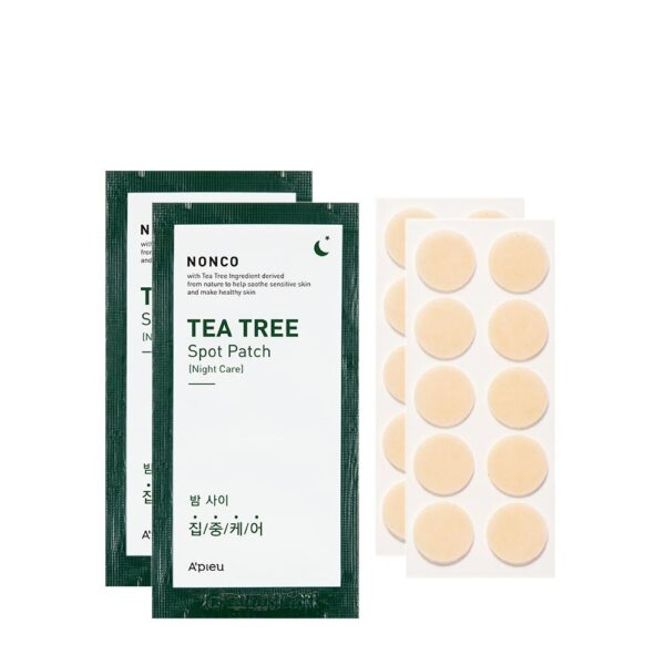 a'pieu nonco tea tree night spot patch