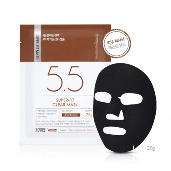 ACWELL Super-Fit Clear Mask