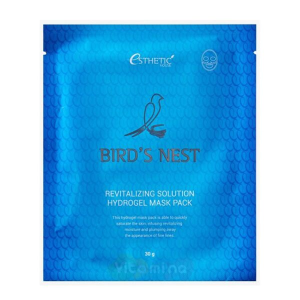 Esthetic House Bird's Nest Revitalizing Hydrogel Mask Pack