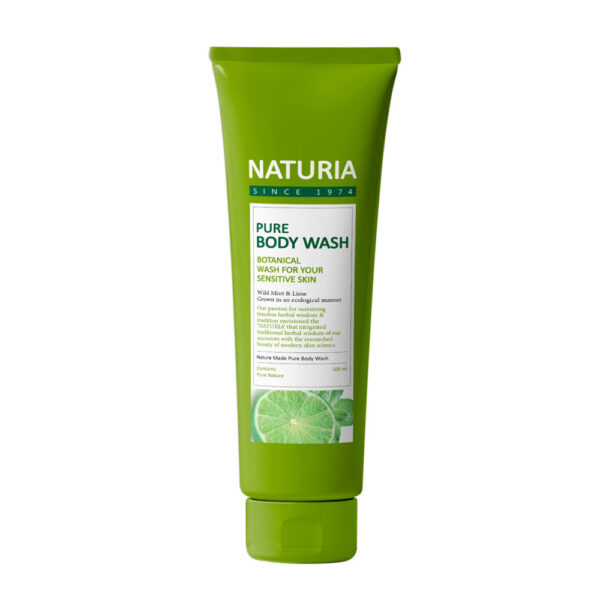 Naturia-Pure-Body-Wash-(Wild-Mint-&-Lime)