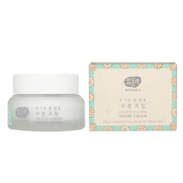 WHAMISA Organic Flowers Water Cream Natto Gum