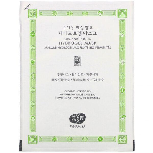 WHAMISA-Organic-Fruits-Hydrogel-Mask